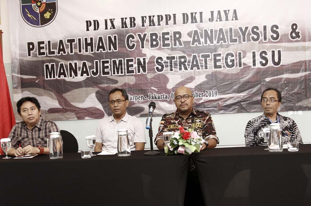 FKPPI Gelar Pelatihan Cyber Analysis Dan Manajemen Strategi Isu
