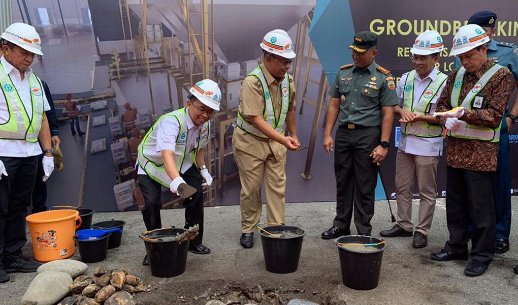 BGR Revitalisasi Gudang di Medan Dan Lampung
