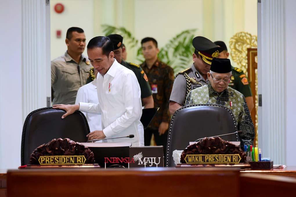 Presiden Jokowi Pimpin Ratas Pelaksanaan Program KUR Tahun 2020