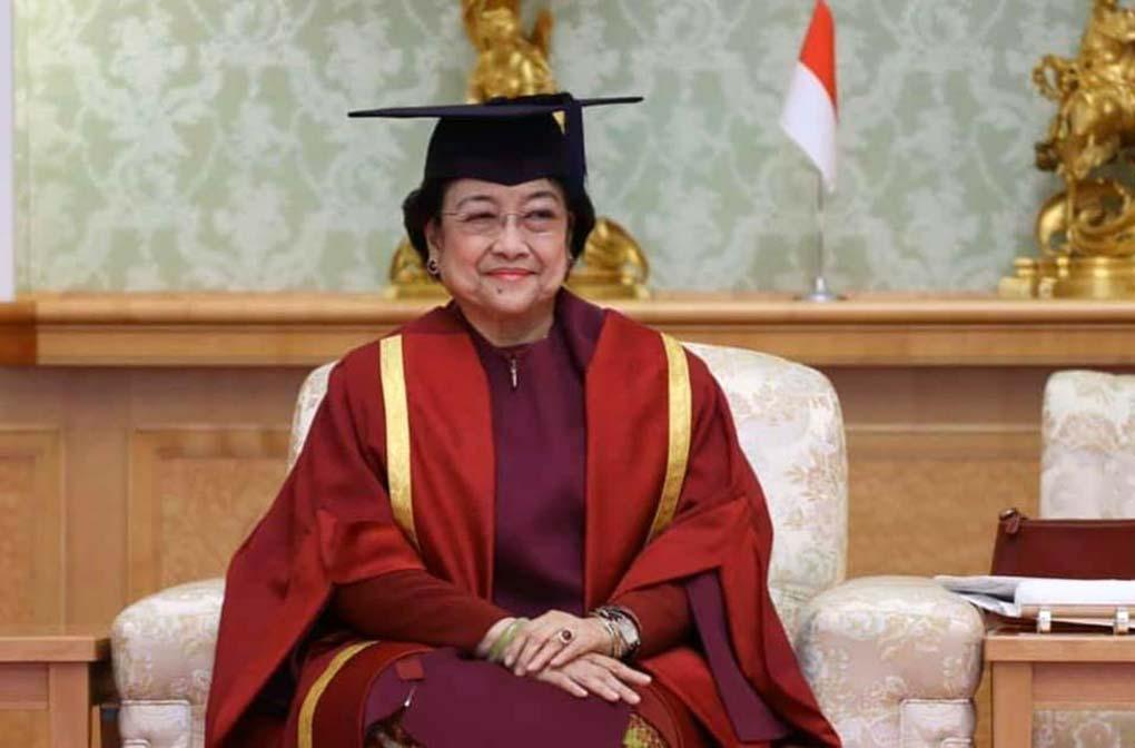 Megawati Raih Gelar Doktor Honoris Causa Universitas Soka Tokyo