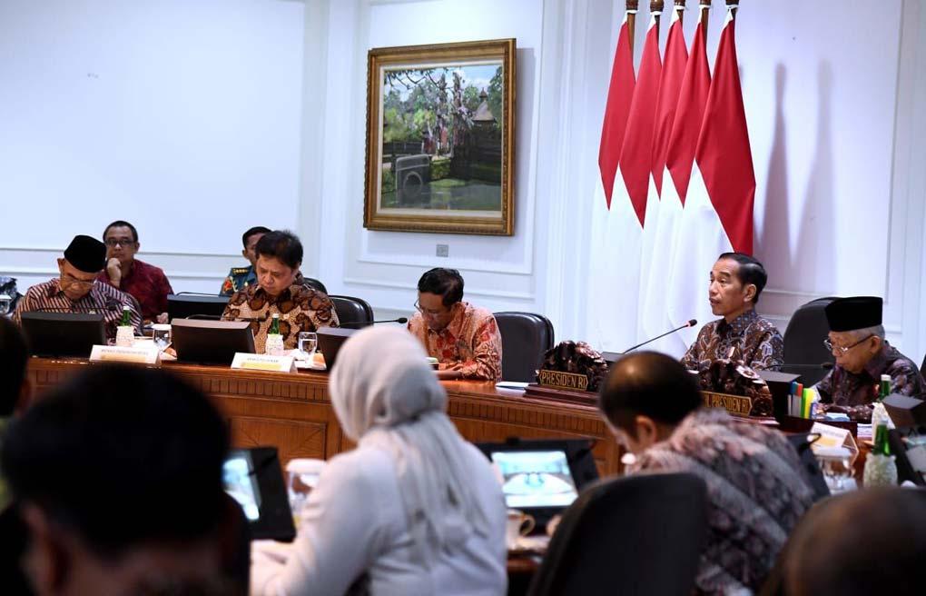 Presiden Jokowi Pimpin Ratas Penanganan Kasus Kekerasan Terhadap Anak