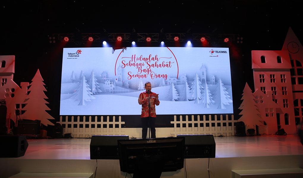 Perayaan Kasih Natal Bersama Telkom Group