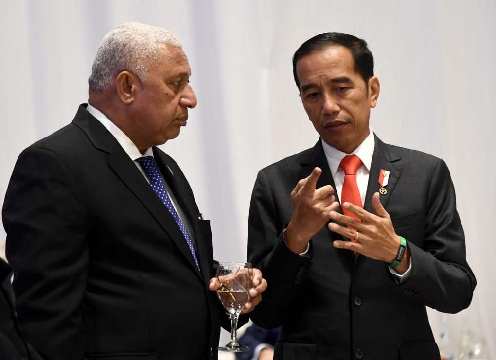 Presiden Jokowi Berpidato di Forum Abu Dhabi Sustainability Week