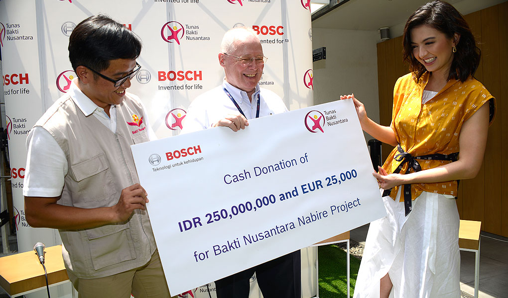 Bosch Donasi Ke Bakti Nusantara