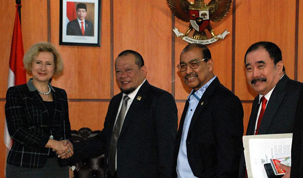 Kunjungan Dubes Federasi Rusia Untuk Indonesia