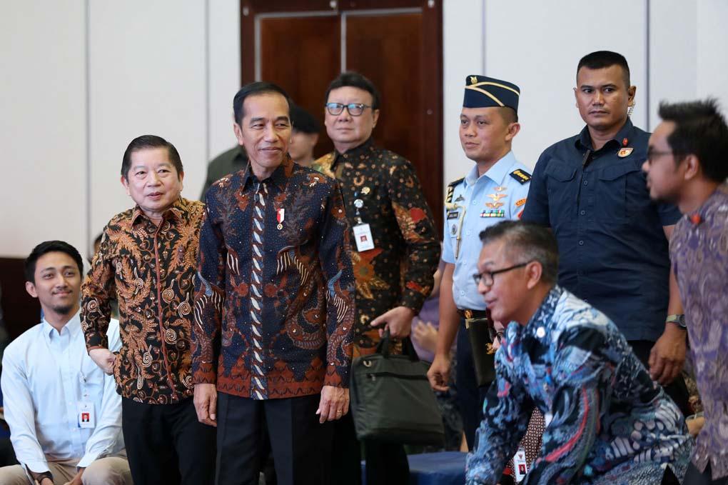 Presiden Jokowi Tinjau IDW Bappenas
