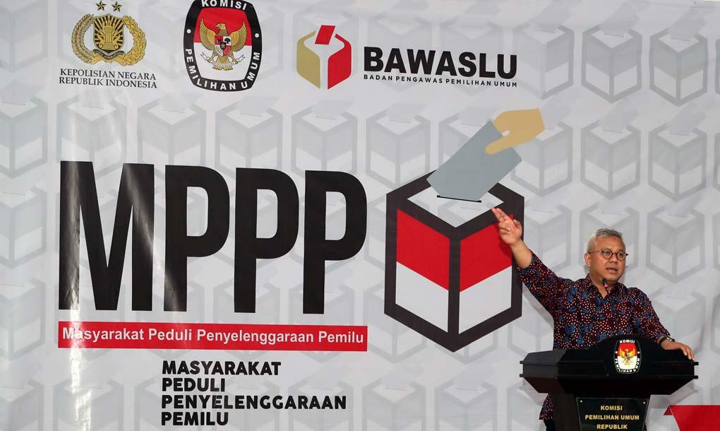 MPPP Berikan Santunan Untuk Keluarga Korban Petugas Pemilu 2019