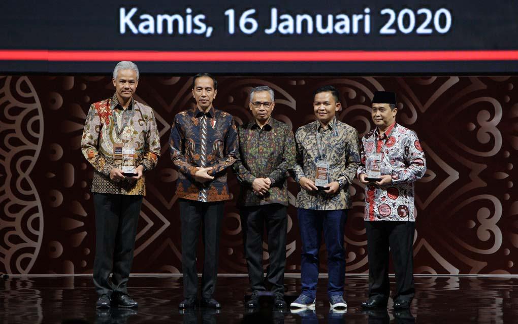 Presiden Jokowi Hadiri Pertemuan Tahunan Industri Jasa Keuangan Tahun 2020