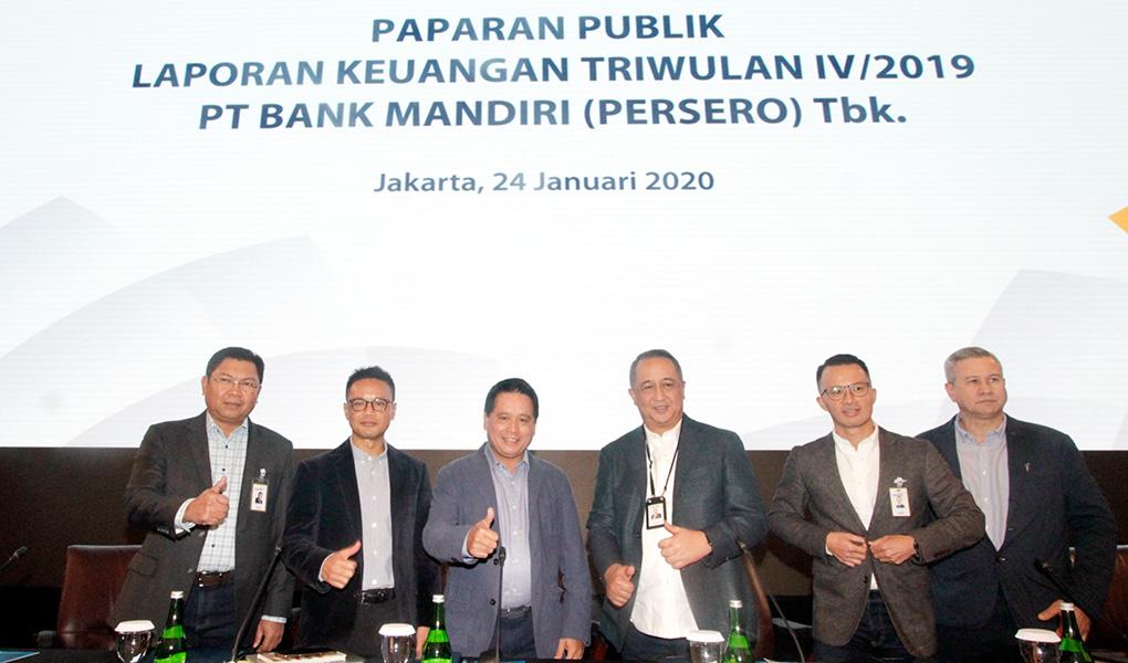 Paparan Kinerja Bank Mandiri