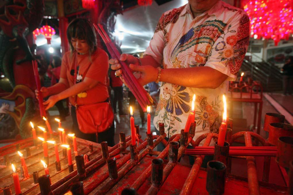 Warga Tionghoa Sambut Perayaan Tahun Baru Imlek