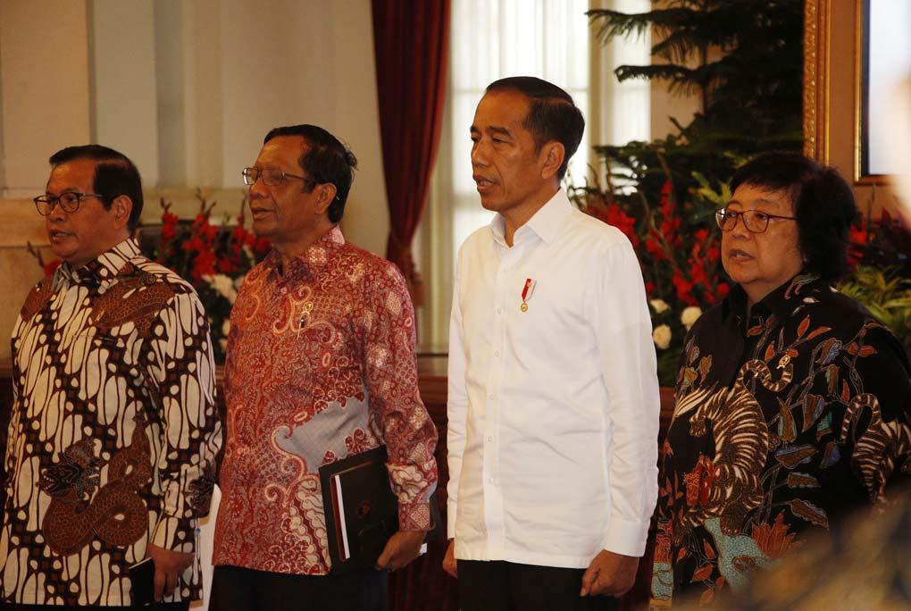 Presiden Jokowi Pimpin Rakornas Pengendalian Karhutla