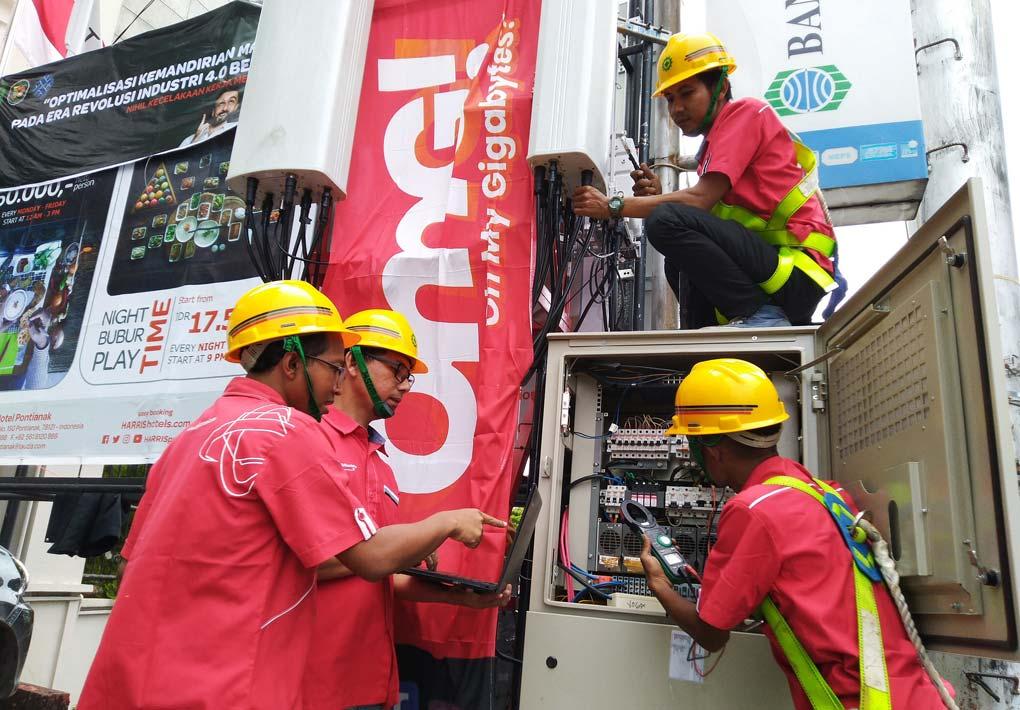 Jaringan 4,9G Telkomsel Kawal Perayaan Cap Go Meh di Kota Singkawang