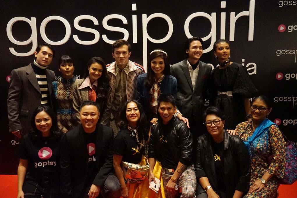 Pemeran serial GoPlay Original Gossip Girl Indonesia