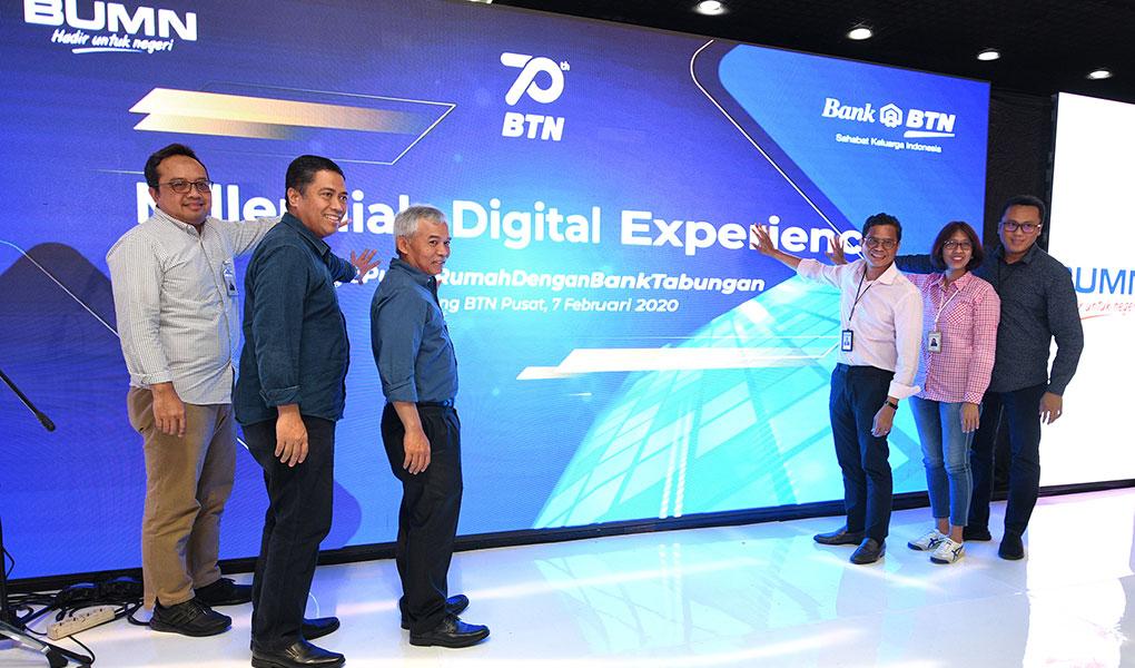 BTN Bidik 2,7 Juta Pengguna Mobile Banking
