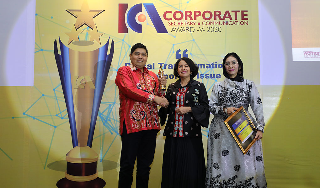 Telkom Menerima Penghargaan ICCA 2020