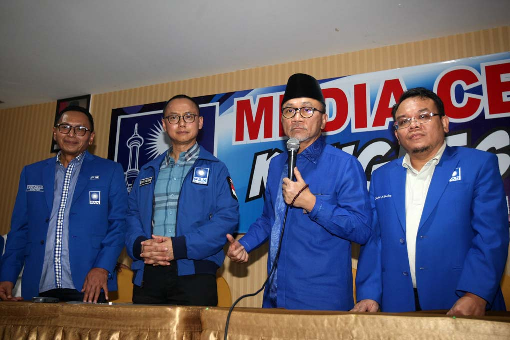 Zulkifli Hasan Maju Ketum PAN 2020-2025