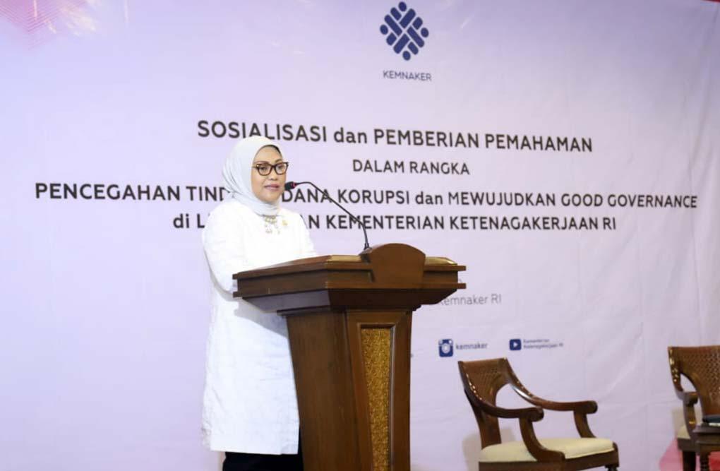 Cegah Korupsi, Kemnaker Gandeng KPK