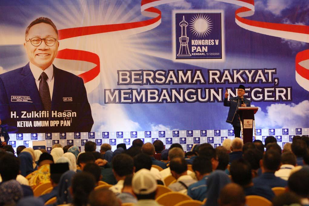 Kongres Ditutup PAN Targetkan Pemilu 2024 Duduki Posisi Ketiga