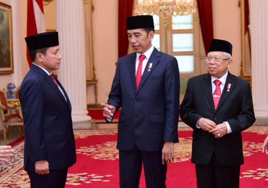 Presiden Jokowi Lantik Kepala Bakamla