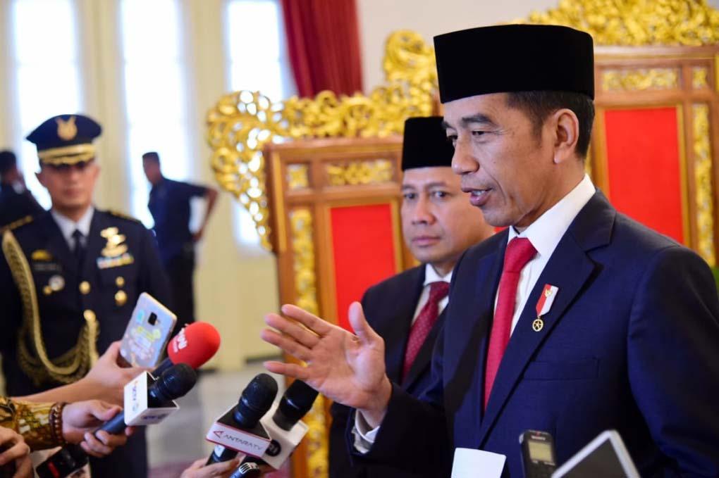 Presiden Jokowi Berikan Keterangan Pers Terkait Isu Terkini