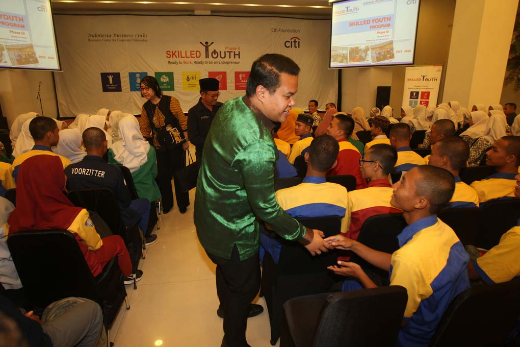 Citi Indonesia Dan Indonesia Business Links Gelar Program Skilled Youth