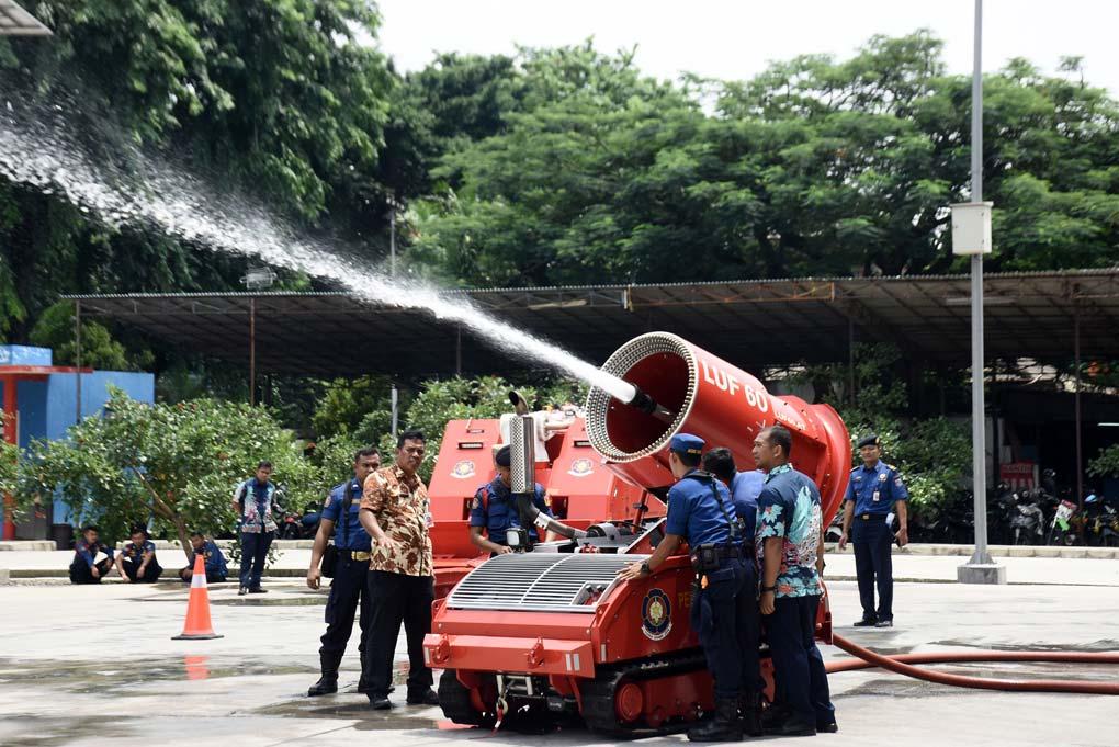 Robot Damkar Pemprov DKI Jakarta