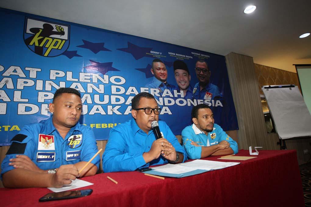DPD KNPI Gelar Rapat Pleno