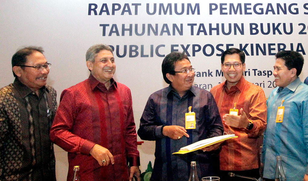 RUPST 2019 Bank Mantap
