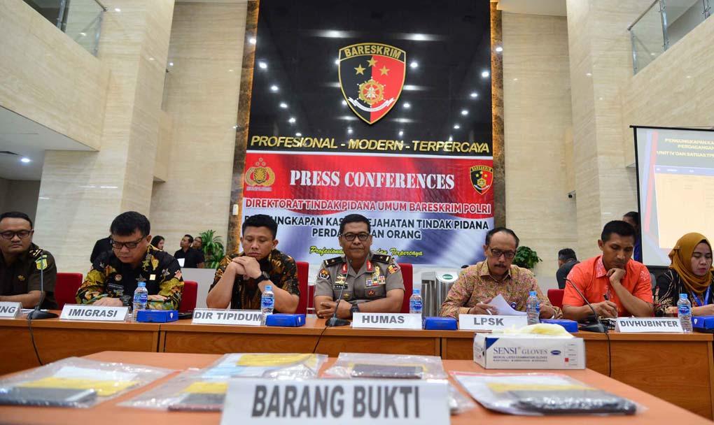 Bareskrim Ungkap Kasus TTPO Modus Seks Halal