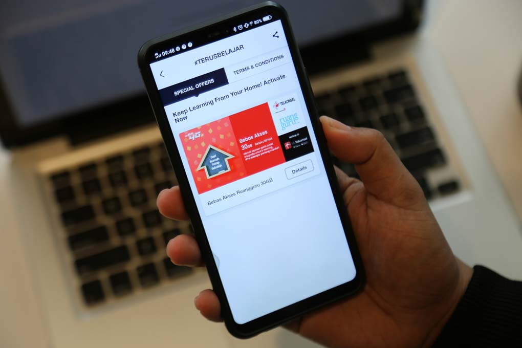 Gandeng Telkomsel, Ruangguru Berikan Akses Bebas Kuota