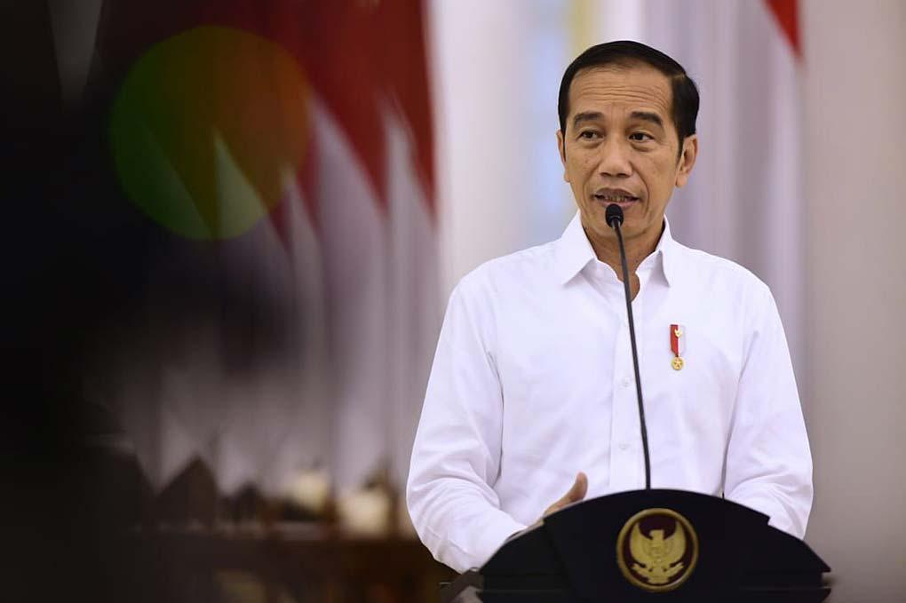 Presiden Jokowi Jumpa Pers Terkait Virus Covid-19