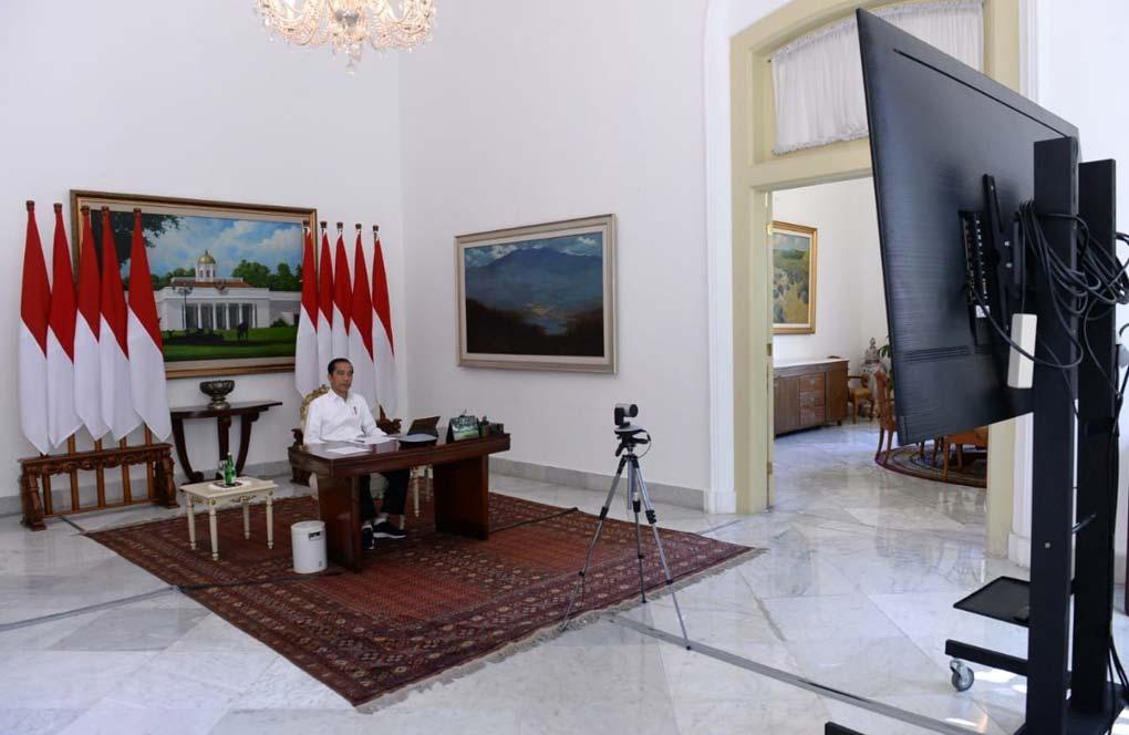 Presiden Pimpin Ratas Lanjutan Antisipasi Mudik