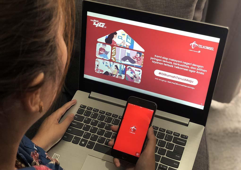 Telkomsel Optimalkan Upaya Bersama Atasi COVID-19 di Indonesia